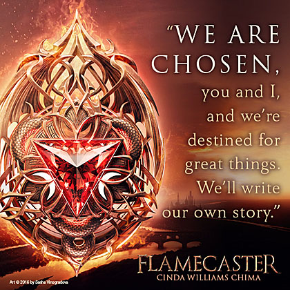 Flamecaster cover with quote 5