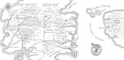 Map of the Shattered Realms